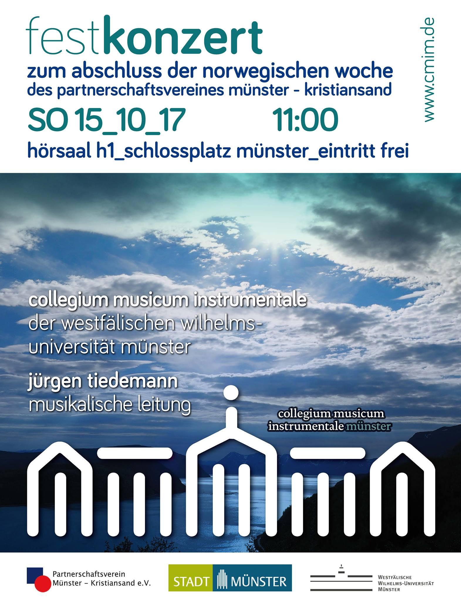 Festkonzert collegium musicum instrumentale münster